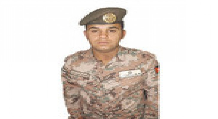ترفيع جندي في القوات المسلحة لقيامه بواجبه بإخلاص