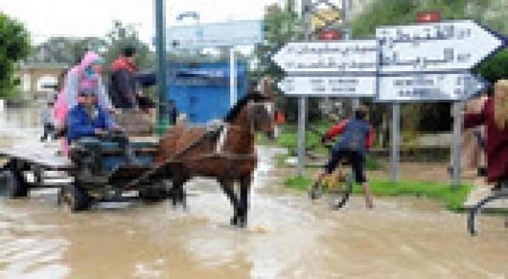 17 قتيلاً جراء فيضانات في المغرب