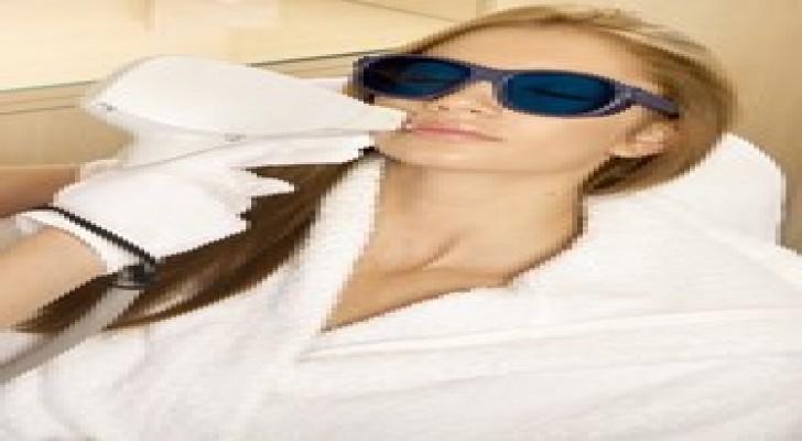 العلاج بالليزر لإزالة الشعر