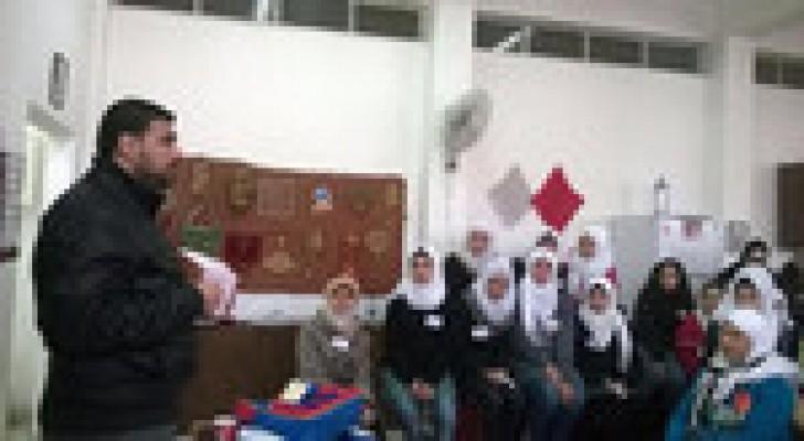 مدرسة بنت عدي الثانوية للبنات تنفذ انجازا رياديا
