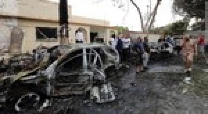 قتيلان وجرحى بتفجير سيارة في بنغازي