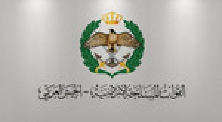 القوات المسلحة - الجيش العربي : ضربات جوية الجمعة على تنظيم داعش الارهابي
