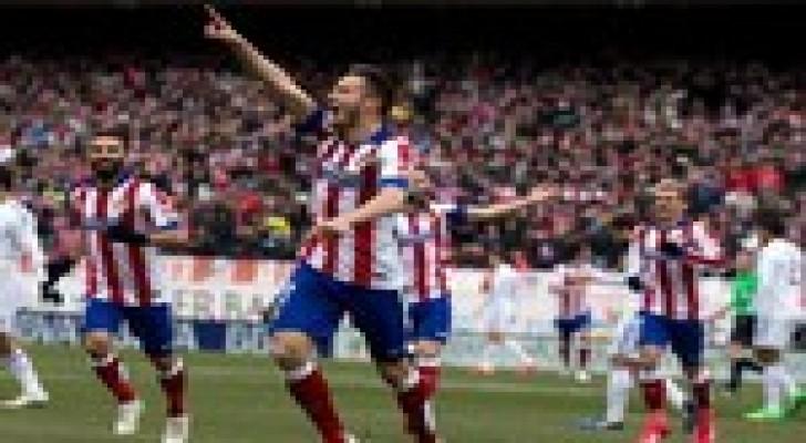 اتلتيكو مدريد يسحق ريال مدريد ويشعل الدوري الاسباني