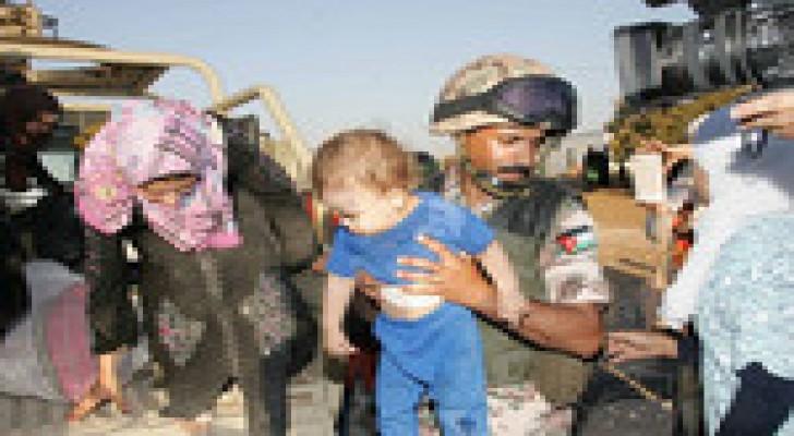 95 لاجئا سوريا عبروا الحدود خلال الـ 48 ساعة الماضية