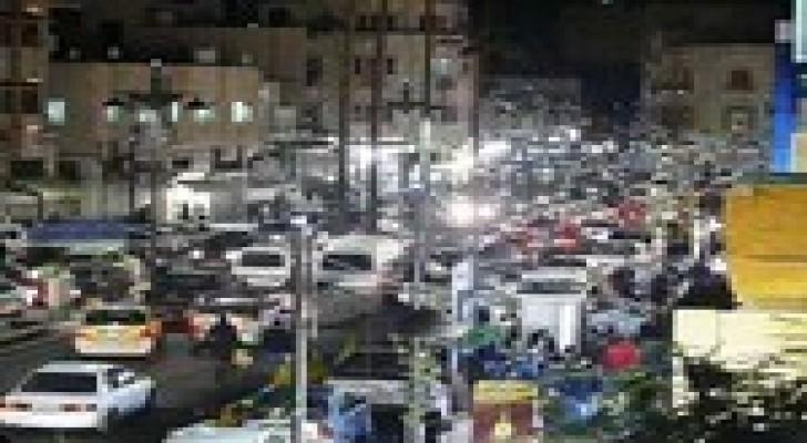 تجار وسط العاصمة يغلقون محلاتهم غدا استنكارا لجريمة اغتيال الشهيد الكساسبة