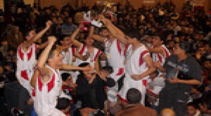 الرياضي بطل دوري كرة السلة للناشئين