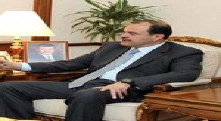 وزير الداخلية يلتقي امين عام مجلس وزراء الداخلية العرب