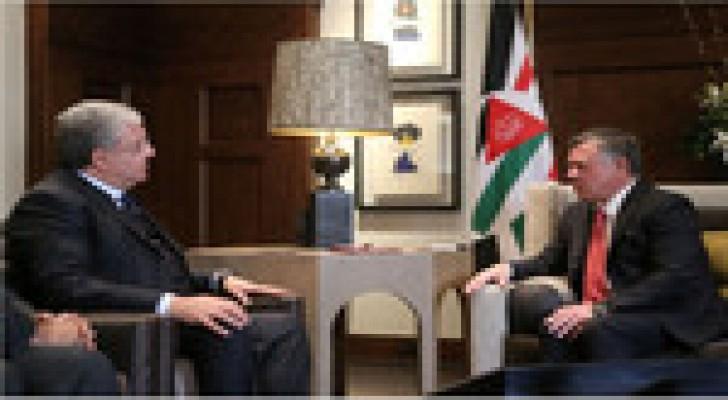 الملك يستقبل وزير الداخلية اللبنانية