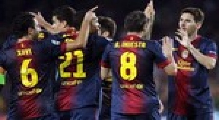 برشلونة يحسم ذهاب كأس الملك امام فياريال