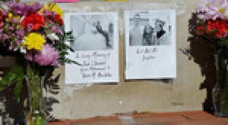 """""""صور"""" تشييع جثامين المسلمين الثلاثة الذين قتلوا بأمريكا"""