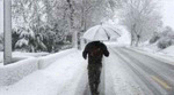 أجواء اليوم باردة وأمطار وثلوج فوق المرتفعات