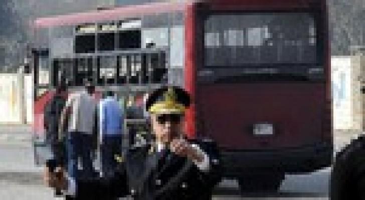 إصابة ضابط و7 جنود ومدني فى تفجير قنبلة شرقي القاهرة