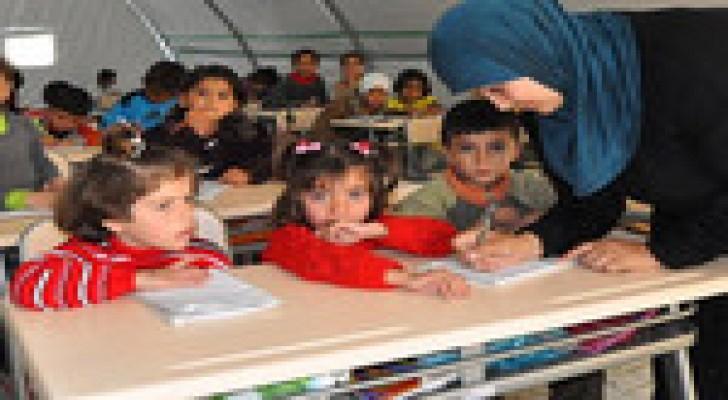 اليونيسف : 129 ألف طالب سوري في مدارس المملكة