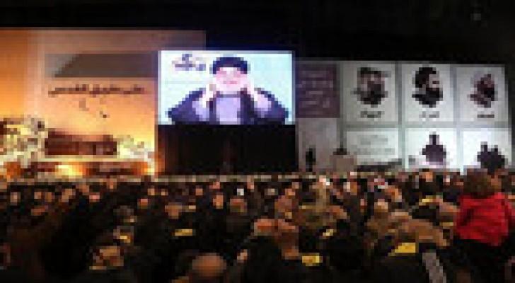 """نصر الله يعلن عن """"وجود محدود"""" لمقاتلي حزب الله في العراق"""