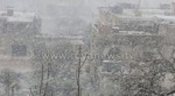 عاصفة جنى الثلجية ستعبُر البلاد على شكل ذروتين