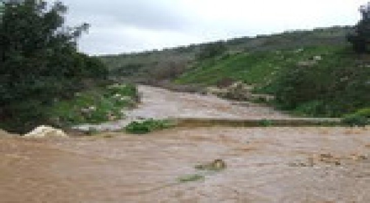 خطة طوارئ للتعامل مع السيول المتوقعة في الاغوار الشمالية