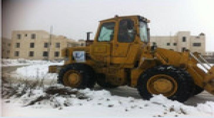 """امانة عمان : حالة طوارئ قصوى من صباح الخميس للتعامل مع """"جنى"""""""