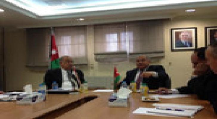 الاردن ومصر يبحثان استكمال مشاريع الطاقة
