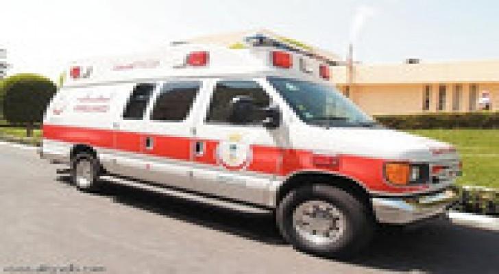 اصابة ثلاثة مواطنين بجروح اثر حادث سير على أوتوستراد عمان الزرقاء
