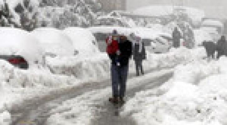 الخميس: عاصفة جنى الثلجية تقترب نهاراً..وتتمركز فوق المملكة ليلاً