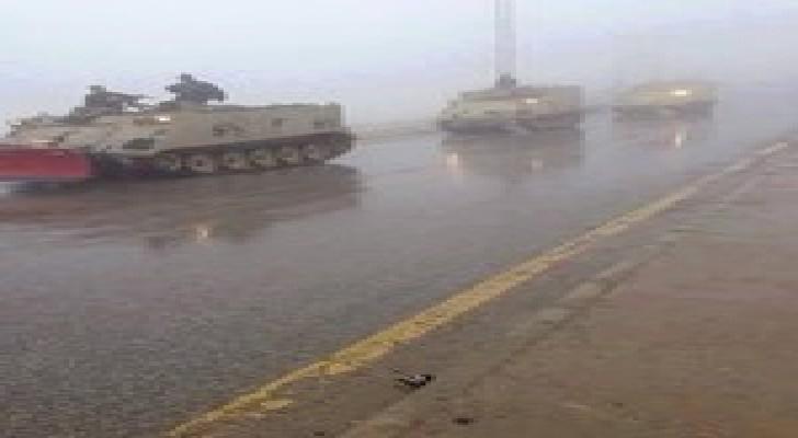 """القوات المسلحة على أتم الاستعداد لمواجهة عاصفة """" جنى """""""