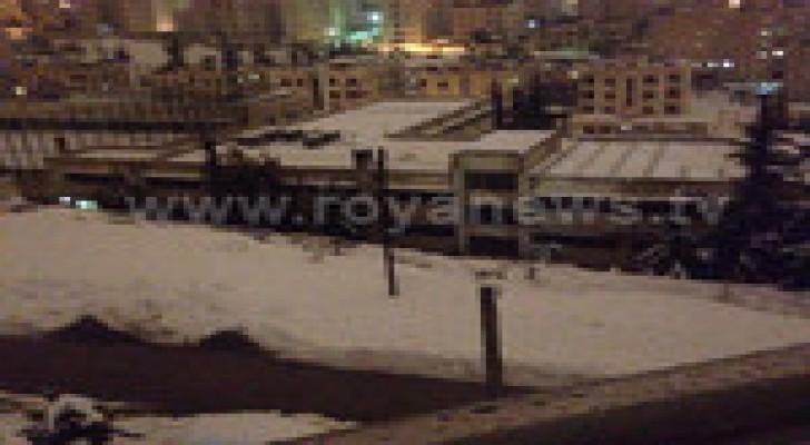 برق ورعد وتساقط للبَرد والثلوج في العاصمة عمّان