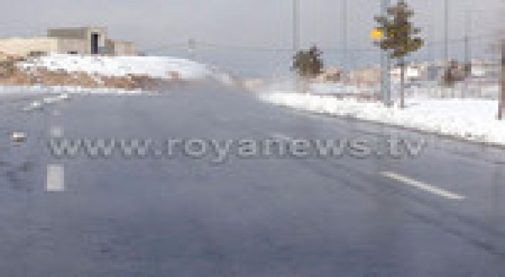 """""""بخار ثلوج جنى"""" في شوارع عمان.. صور"""