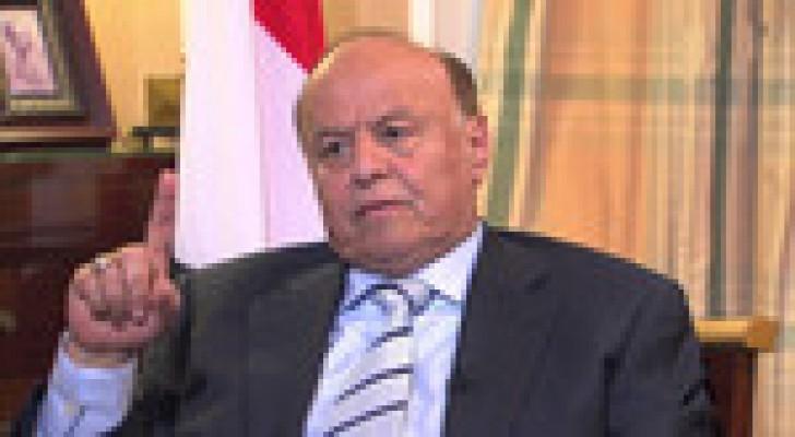 هادي: المبادرة الخليجية مرجعية والحوار في مكان آمن