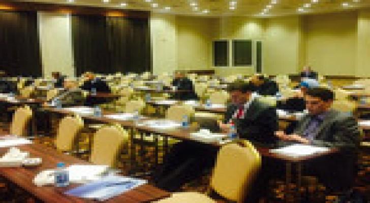طوقان يرعى مؤتمرا لهيئة الطاقة النووية في البحر الميت