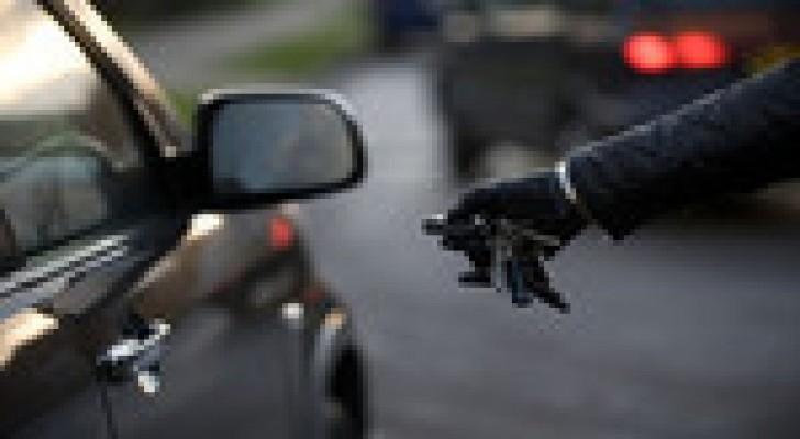 شركة تنتج قطعا لحماية السيارات تستعين بمراهق فيسرق إحدى سياراتها