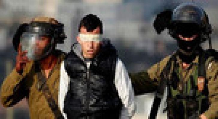 اعتقال سبعة شبان وأطفال في الضفة والقدس