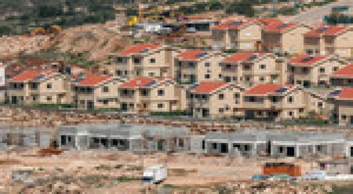 الاستيطان الإسرائيلي يسجل رقما قياسيا