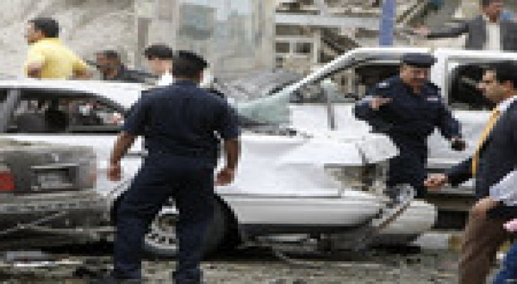 25 قتيلا و69 جريحا في سلسة تفجيرات ضربت بغداد