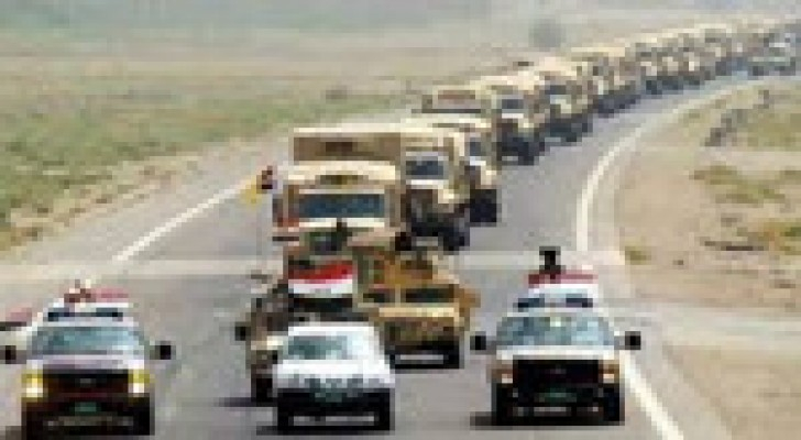 """إمدادات عسكرية امريكية الى بغداد لمواصلة الحرب ضد """"داعش الارهابي"""""""