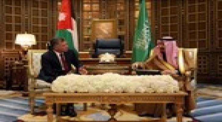 مباحثات سعودية أردنية في الرياض