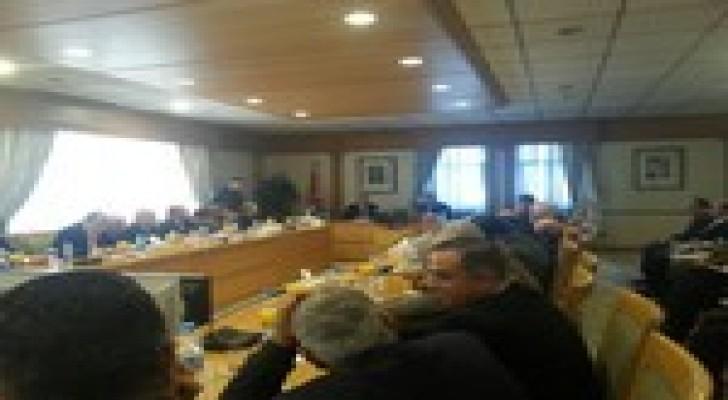 لقاء محافظ البنك المركزي وجمعية رجال الاعمال الاردنيين ونخبة من الاقتصاديين
