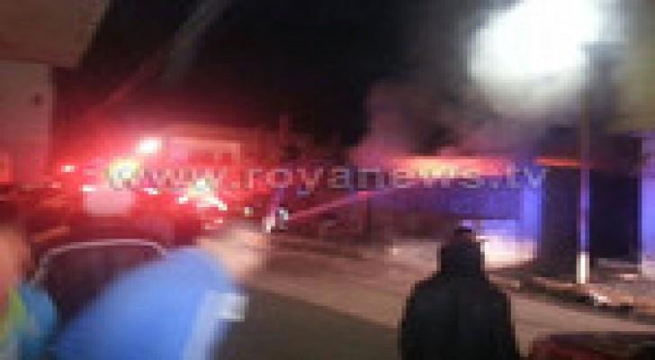 حالة اختناق اثر حريق منزل في اربد