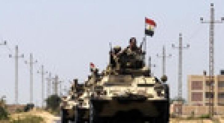 مقتل عشرات المسلحين بقصف جوي في سيناء