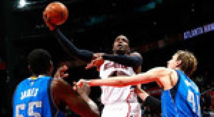 أتلانتا يستغل غيابات دالاس بدوري كرة السلة الاميركي