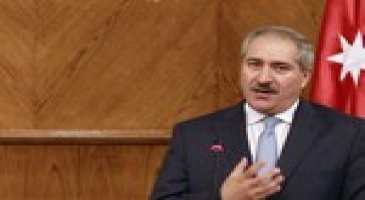 جودة يؤكد دعم الأردن لوحدة العراق