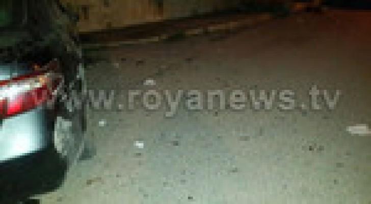(4) اصابات اثر حادث تصادم في اربد .. صور