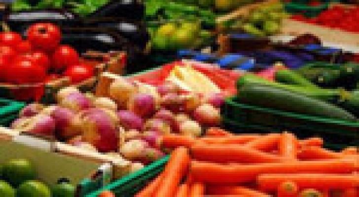 15 % نسبة زيادة صادرات الاردن الزراعية العام الماضي