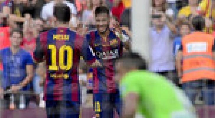 برشلونة يهزم غرناطة ويعود للانتصارات بالدوري الإسباني