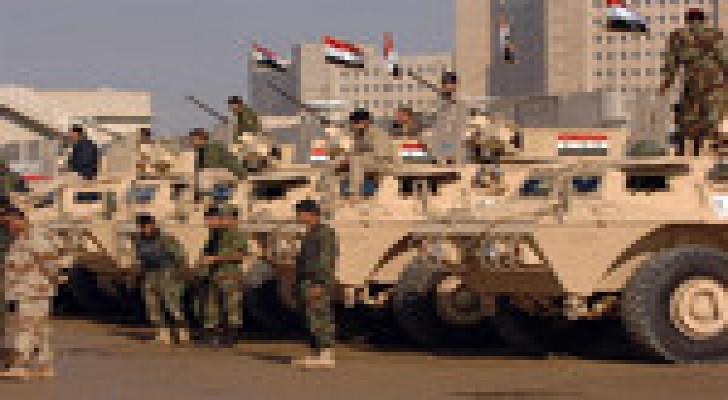 """العراق يعلن بدء معركة استعادة تكريت.. و""""داعش"""" يقصف مجمع البغدادي"""