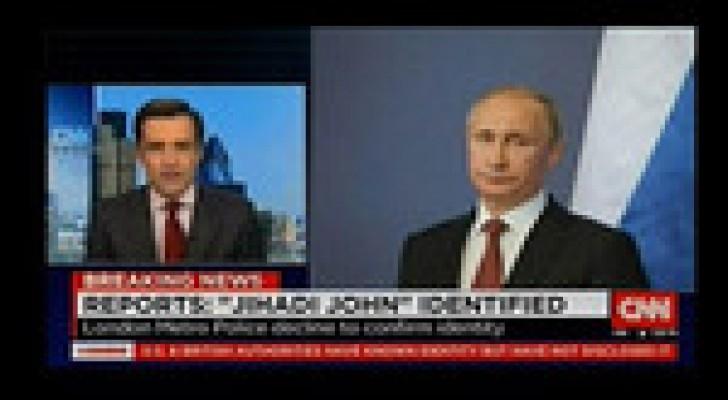 """""""CNN"""" تعتذر عن خلطها صورة بوتين و""""ذباح داعش"""""""