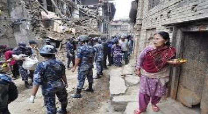 ارتفاع حصيلة ضحايا زلزال نيبال إلى 36 قتيلًا