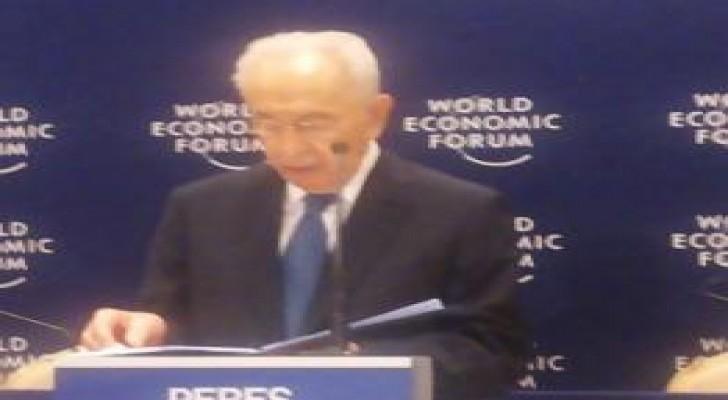 بيريز  : لابد من التوصل لاتفاق سلام بين اسرائيل والفلسطينيين