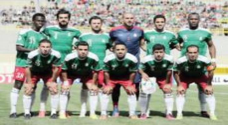 الوحدات يلتقي القادسية الكويتي في كأس الاتحاد الاسيوي غدا