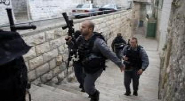 شرطة الإحتلال الإسرائيلي تكثف تواجدها بالقدس في الجمعة الأولى من رمضان