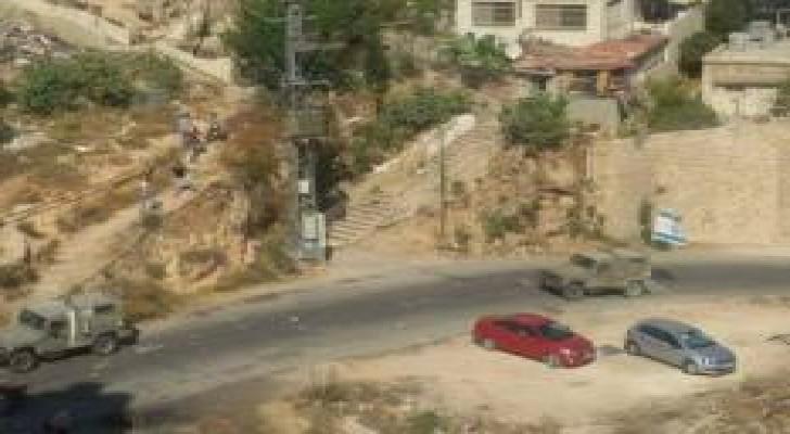 الاحتلال يعتقل أحد المقاومين بعد إصابته في نابلس